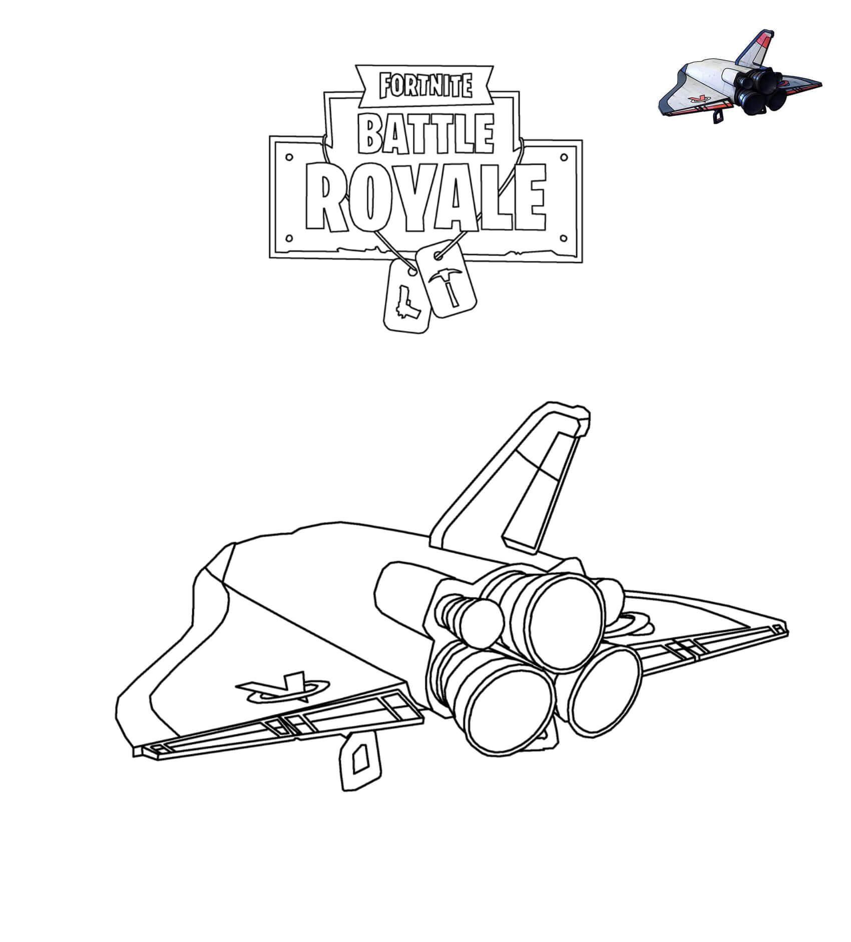 розмальовка Дельтаплан Orbital Shuttle