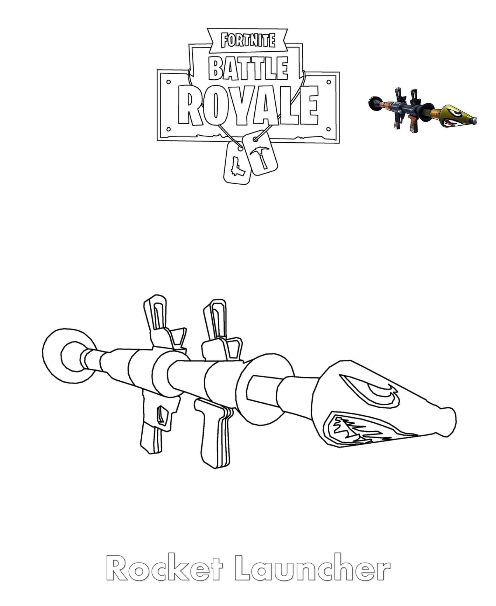 розмальовка РПГ-7В